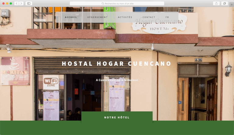 Hostal Hogar Cuencano por Pi Studio